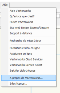 FAQ vectorworks 1 aide a propos