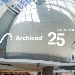 Acheter le logiciel BIM Archicad 25 chez CAD Equipement