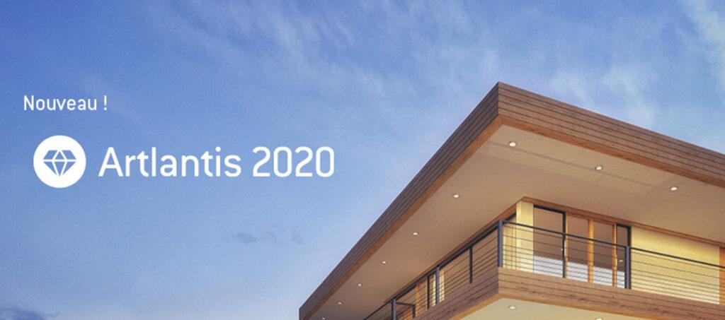 Artlantis 2020 est disponible !