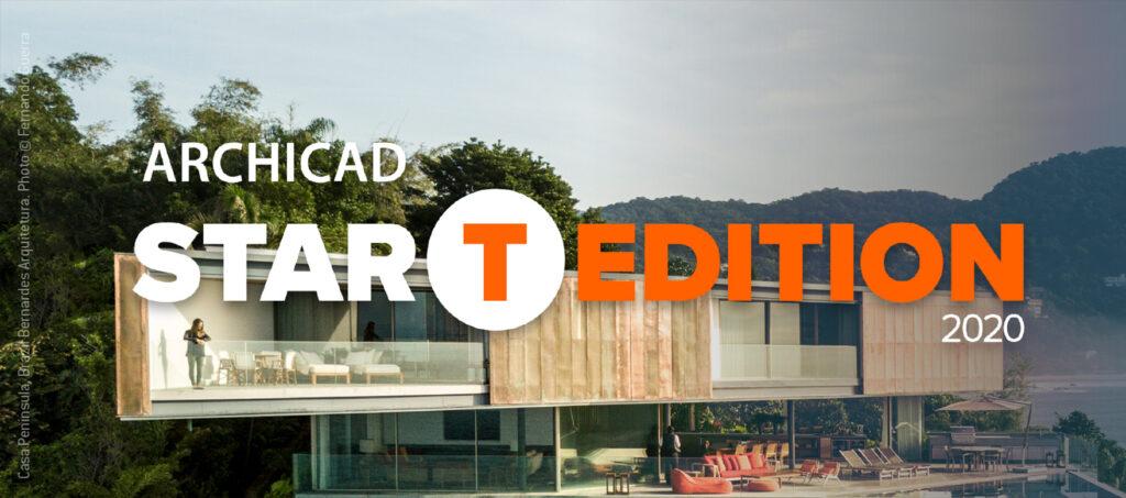 ARCHICAD STAR(T) Edition 2020 est disponible