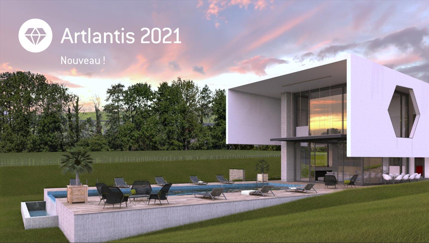 Artlantis 2021 continue son évolution