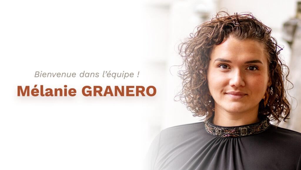 Mélanie GRANERO rejoint l'équipe CAD Equipement !
