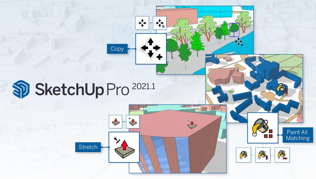 SketchUp Pro 2021.1 : les améliorations qu'on attendait avec impatience !