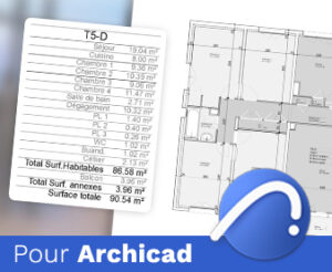 Pack Surface Archicad