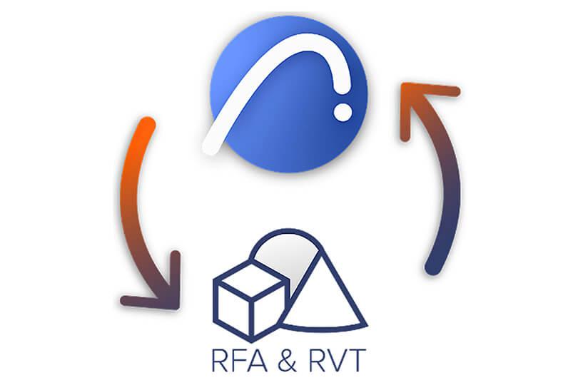 Objets MEP RFA importés comme Objets natif Archicad 25