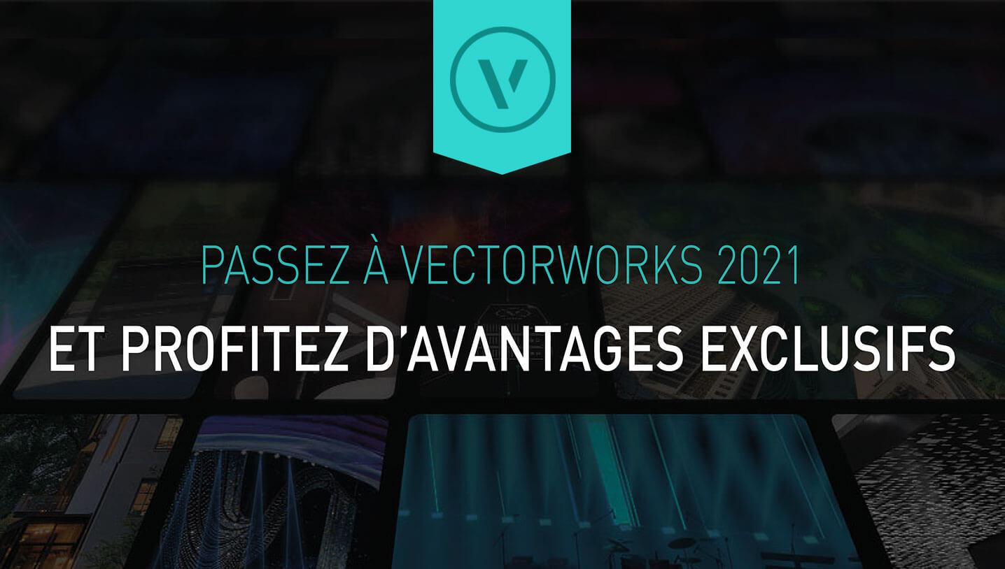 Les promotions Vectorworks de la rentrée 2021