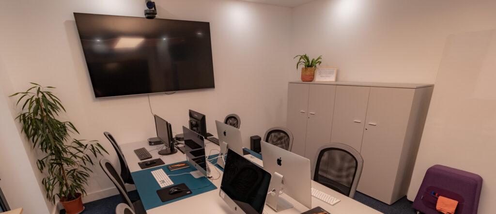Inauguration dans notre salle de formation CAD Equipement à Paris