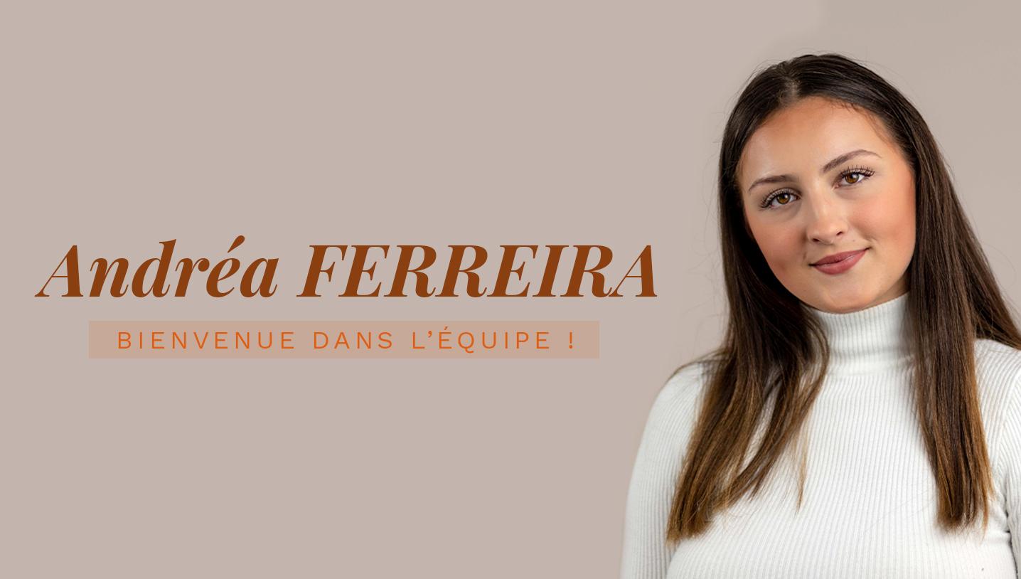 Andréa FERREIRA rejoint l'équipe CAD Equipement !